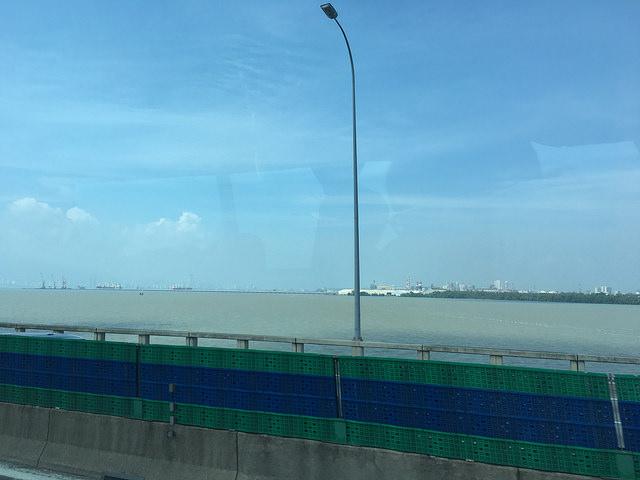 ペナン島へと続く橋