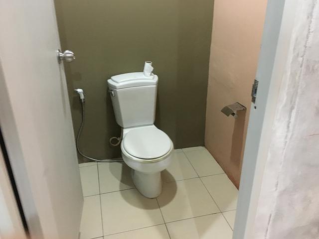 アオナンの宿のトイレ