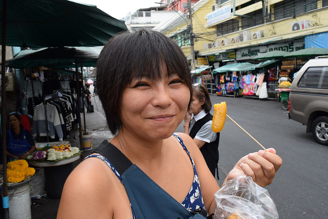 買っちゃった! 自然な甘さのバナナのおやつ。おいしい!