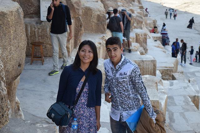 日本人とバレると現地の観光客から2ショットを求められる