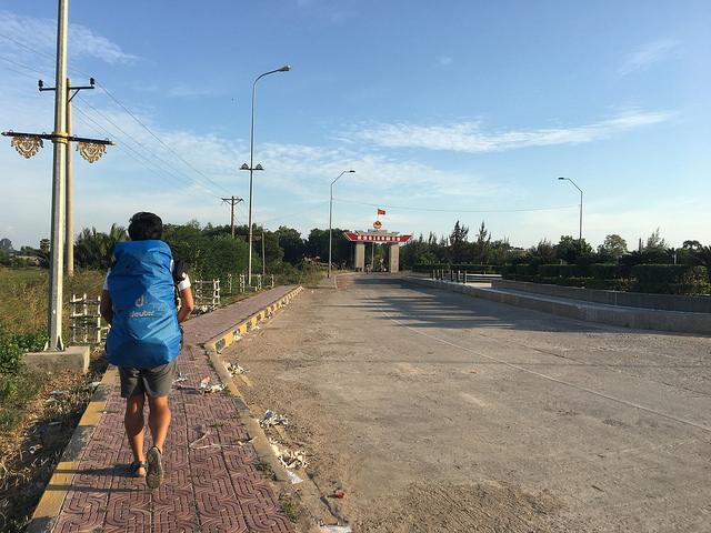歩いてベトナムへ