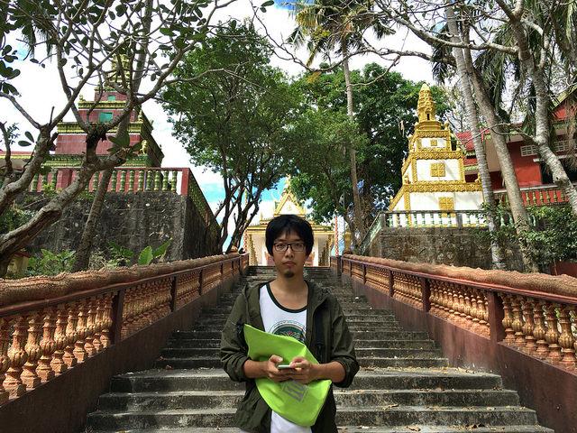 Wat Leuの入り口